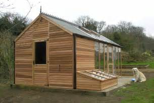 Greenhouse Shed Plans by Shed With Greenhouse Plans Shed Plans Sloped Roof