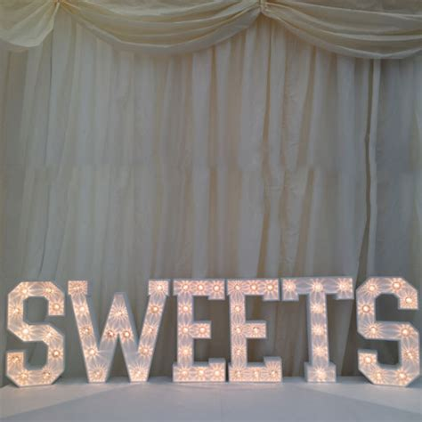 sweet up letters accessories by the word is team