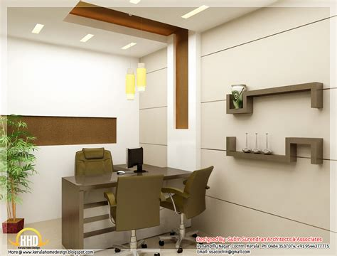 interior design ideas beautiful 3d interior office designs kerala home design