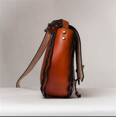 Handmade Leather Purse - leather s shoulder bags and leather handbags