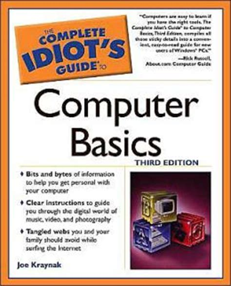 The Complete Idiot S Guide To Mba Basics Pdf by The Complete Idiot S Guide To Computer Basics By Joe