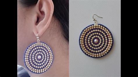 How To Make Earrings Out Of Paper - how to make paper earrings earrings made out of paper