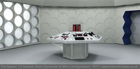 Tardis Console Room by Doctor Who 3d Tardis Console Room Classic Console Model