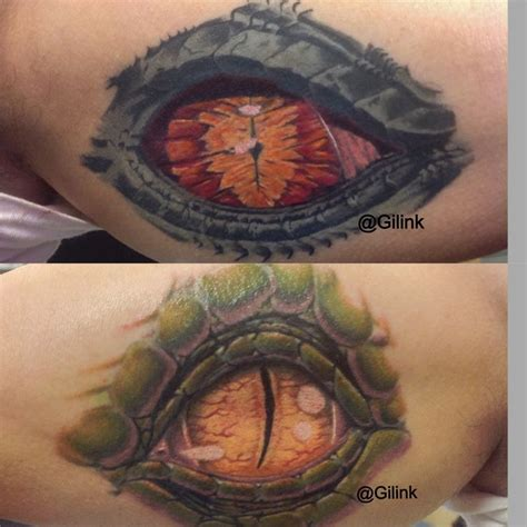 eyeball tattoo colors dragon color eye tattoo tattoos pinterest