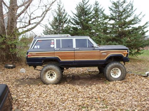 Jeep Grand 1985 Bearfacedkiller 1985 Jeep Grand Wagoneer Specs Photos