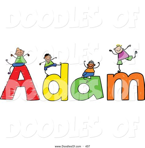 doodle name adrian royalty free boy name stock doodle designs
