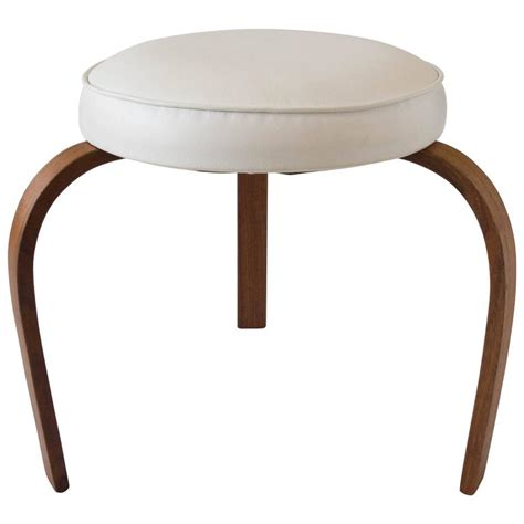 Stool Legs Wood by American Made Stool With Bent Wood Legs For Sale At 1stdibs