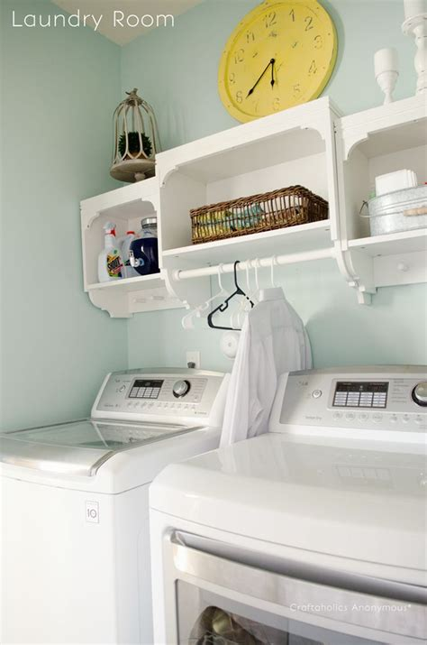 Diy Small Laundry Room Makeover by Laundry Room Makeover Reveal
