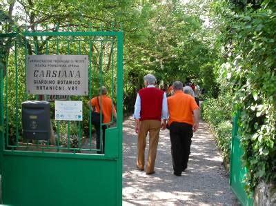 giardino botanico carsiana giardino botanico carsiana news