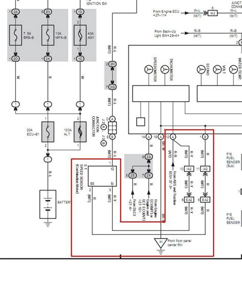 ecu wiring diagram required altezza club of nz australia