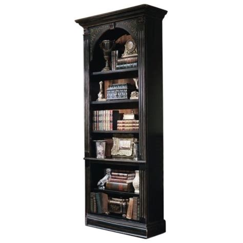 Black 5 Shelf Bookcase by Furniture Seven Seas 5 Shelf Bookcase In Black