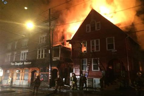 chapter house ithaca ithaca fire displaces students destroys chapter house pub cornell chronicle
