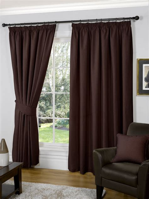plain brown curtains curtains brown decorate the house with beautiful curtains