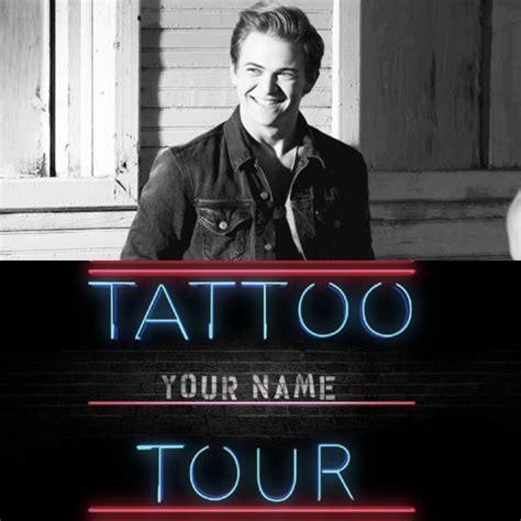 tattoo your name lyrics hunter hayes martin blog cfmartinguitar