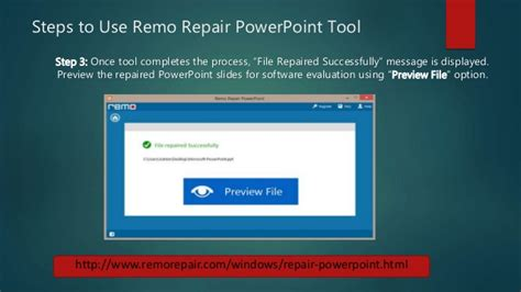 repair powerpoint file how to repair powerpoint files
