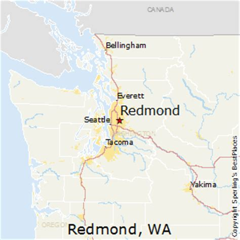 maps redmond best places to live in redmond washington