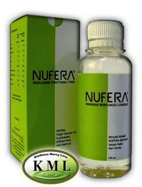 Minyak Kelapa Dara Nufera produk kesihatan nufera dapat meningkat dan membaiki