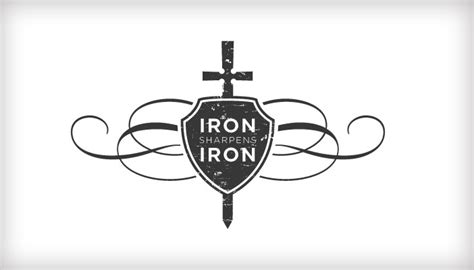 iron sharpens iron tattoo quot as iron sharpens iron so one sharpens another