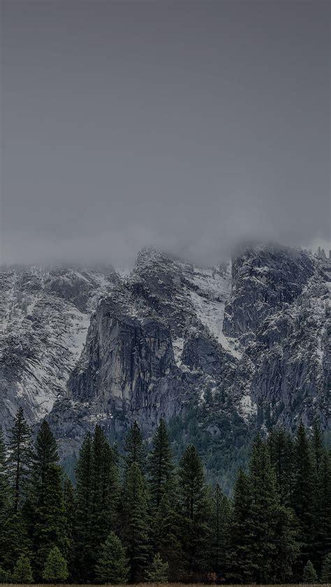 dark yosemite wallpaper freeios7 mf47 yosemite coming dark snow round mountain