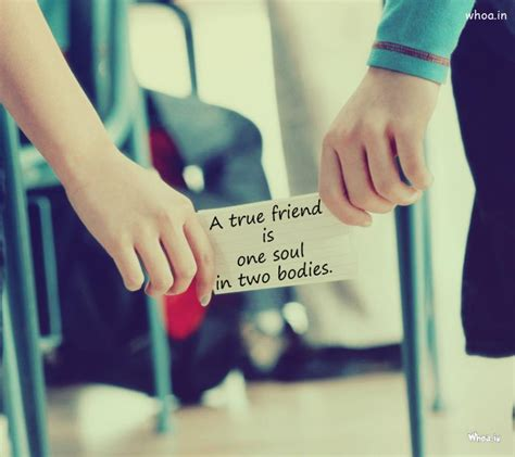 a true friend friendship day quote in couples