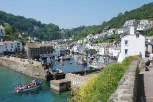 polperro harbour view cottage images