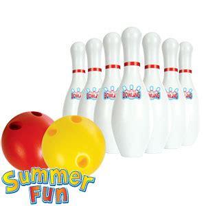 buy summer fun ten pin bowling set  home bargains
