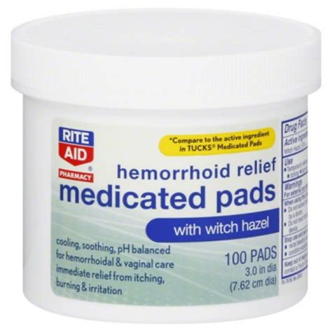 hemorrhoid seat cushion rite aid rite aid pharmacy medicated pads hemorrhoid relief with