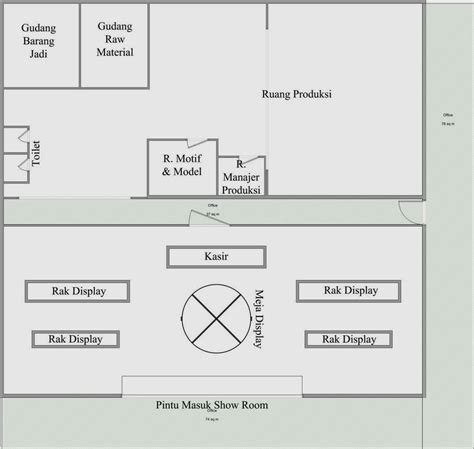 layout produksi perusahaan primbon ultramen desember 2013