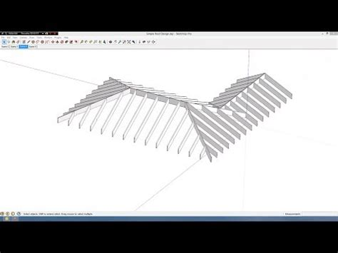 house roof design software free youtube simple roof design in sketchup youtube