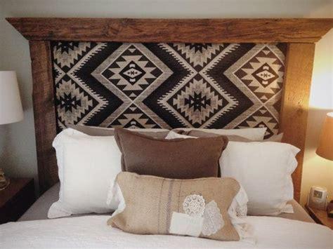 etsy upholstered headboard rustic upholstered barnwood headboard by threearrowdesign