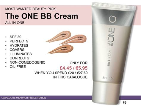 The One Bb Lip Balm By Oriflame oriflame 8 in 1 bb blemish balm with skincare and make up benefits doesn t clog pores