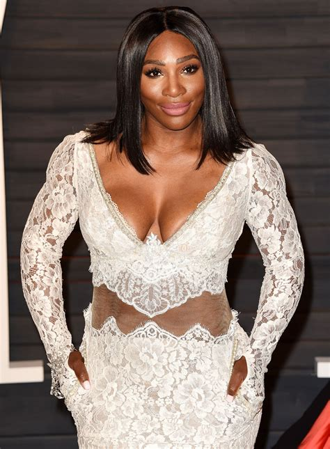 serena williams at vanity fair oscar hosted by