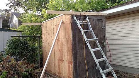 build   gardentool shed diy pallet shed youtube