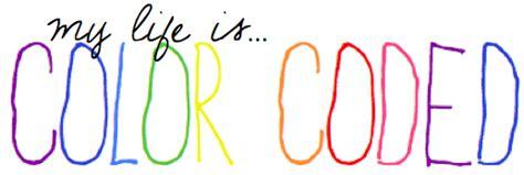 color live c o l o r c o d e d