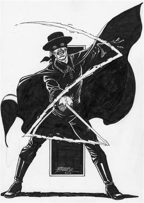 ZORRO (Sep 2013) art by George Perez at BALTIMORE COMIC