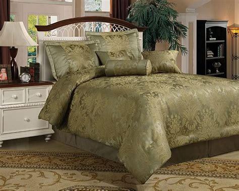 sage green bedding details   queen  piece