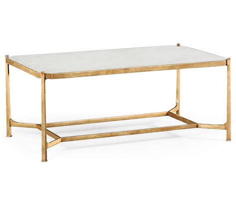 glass gold coffee table swanky interiors