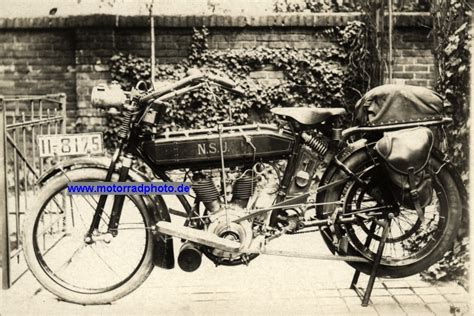 Nsu Motorrad Typen by Motormobilia Nsu Motorrad Foto Typ 4 Ps 499 Ccm 2 Zyl