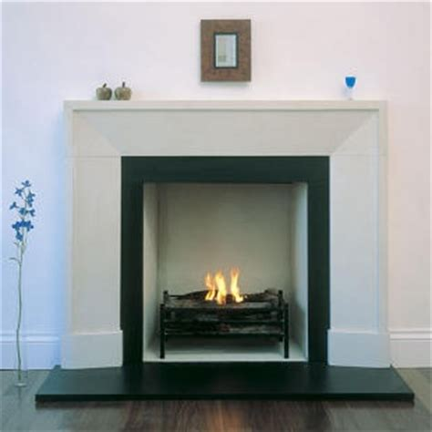 simple fireplace surround for the home