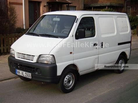 suzuki box truck suzuki super carry 2000 box type delivery van photo and specs