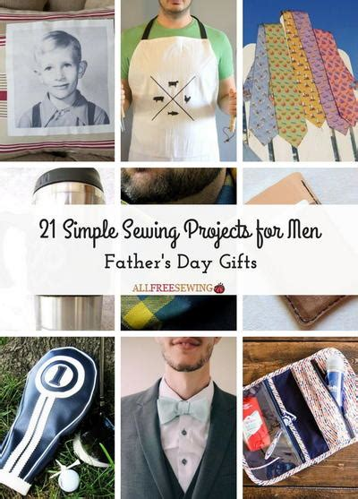 fabric crafts for guys 21 simple sewing projects for s day gifts