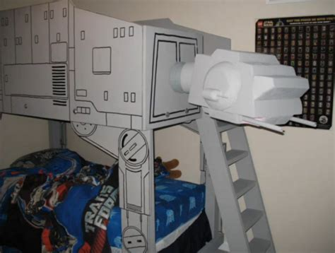 star wars bunk bed star wars kids room ideas