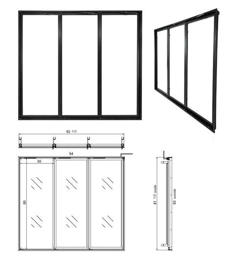 rw international glass door frames