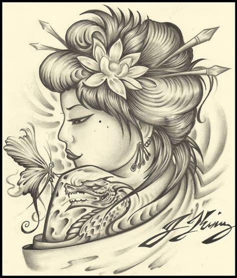 geisha tattoo designs tumblr forasteiro tattoo tattoo de gueixas
