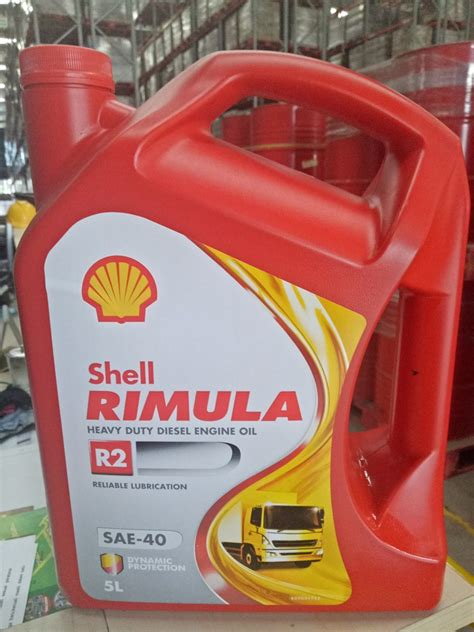 Shell Rimula R2 1 shell rimula r2 40w 5 l sae 40 1 galon sejahtera