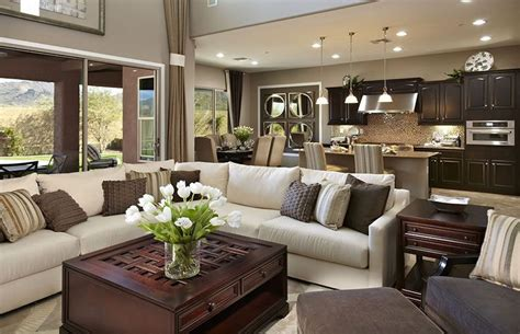 warm living room colors interior decorating las vegas like the warm color scheme in this great room for the