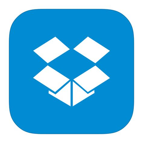dropbox app metroui apps dropbox icon ios7 style metro ui iconset