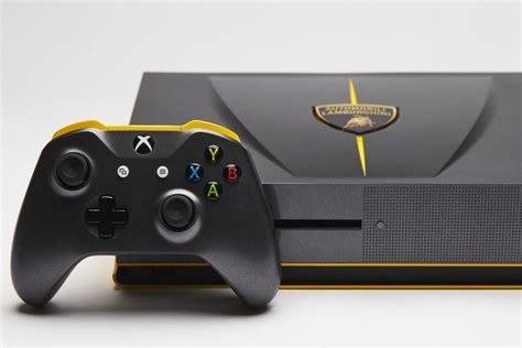 Lamborghini One Custom Lamborghini Xbox One S Giveaway Begins With Forza