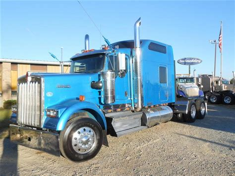 used 2009 kenworth w900 studio tandem axle sleeper for