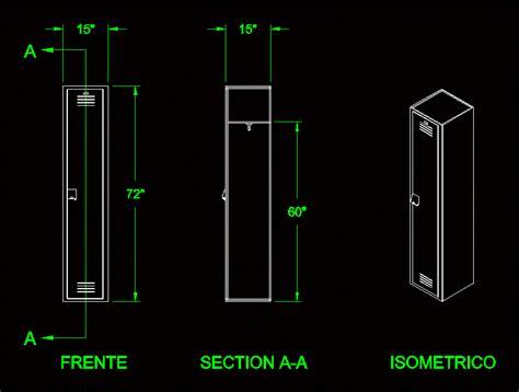 locker  dwg block  autocad designs cad